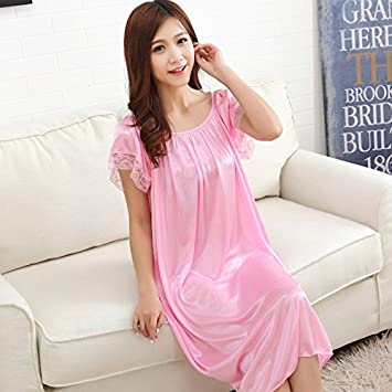 El Verano – nachthemd Pijama, kurzärmeliges Verano seda seda Tamaño fino, Bella Mujer,