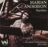 : Marian Anderson: Rarities