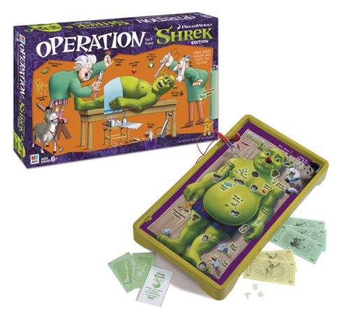 USAOPOLY Shrek Operation