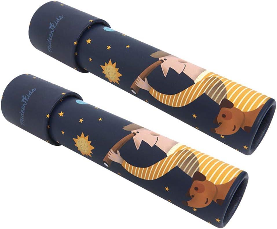 2Pc Caleidoscopio Juguete, Mágico Caleidoscopio Regalo Caleidoscopio para Niños Y Niñas
