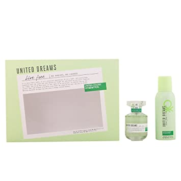 Benetton United Dream Live Free Agua de Colonia + Desodorante - 1 Pack: Amazon.es: Belleza