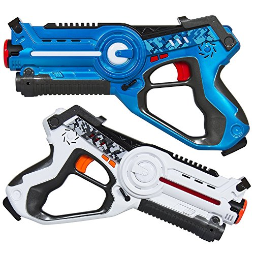 Park Tags (MOD Complete Kids Laser Tag Set Gun Toy Blasters W/ Multiplayer Mode, 2 Pack)