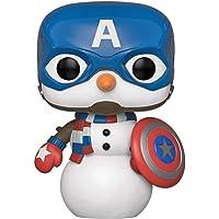 Funko Pop Marvel Holiday Capt. America, Multi-Colour, FU43335