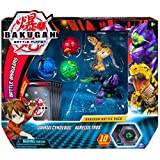Bakugan Battle Pack 5-Pack, Darkus Cyndeous & Aurelus Trox, Collectible Cards & Action Figures, Ages 6 & Up