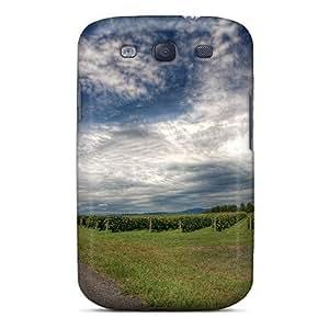 Premium Durable Beautiful Rural Road Sky Fashion Tpu Galaxy S3 Protective Case Cover