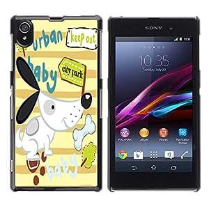 Dragon Case - FOR Sony Xperia Z1 L39 - Tastes differ - Caja protectora de pl??stico duro de la cubierta Dise?¡Ào Slim Fit