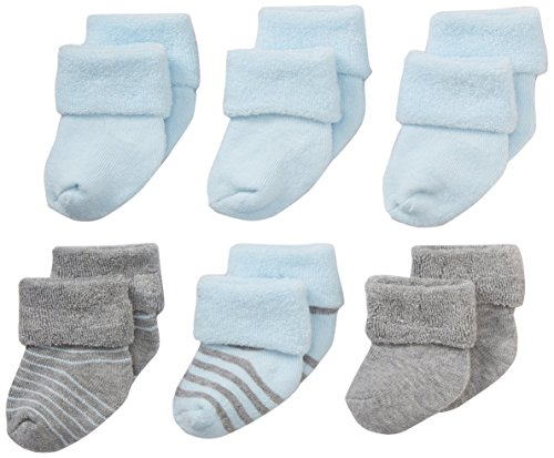 Nuby Infant Newborn 6 Pack Booties