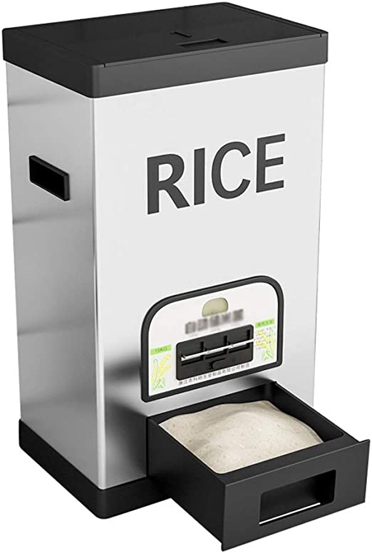 Dispensadores de cereales Medidor De Barril Caja De Almacenamiento ...