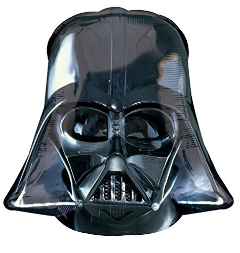 Anagram International Darth Vader Helmet Shape Pack, 25