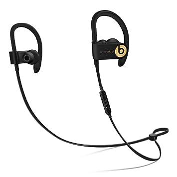 Apple Powerbeats3 - Auriculares (Inalámbrico, Gancho de Oreja, Dentro de oído, Binaural, Intraaural, Negro, Oro): Amazon.es: Electrónica