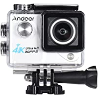 Andoer 2.0in Wifi 4K 1080P 60FPS 30FPS Full HD DV LTPS LCD Waterproof 170°Wide Angle Outdoor Action Sports Camera Camcorder Digital Cam Video Car DVR
