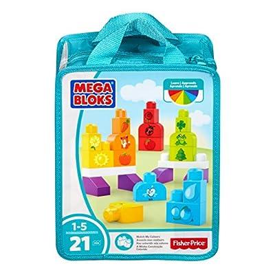 Mega Bloks Match My Colors Building Kit: Toys & Games
