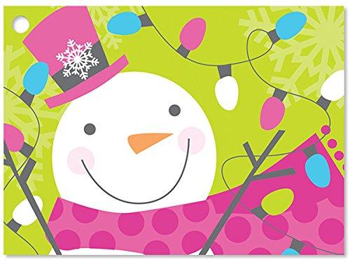 [해외]눈사람 쥬 빌리 기프트 카드 (6 팩) 3 ~ 3 × 4 \\ / Snowman Jubilee Gift Cards (6 Pack ) 3-34x2-34