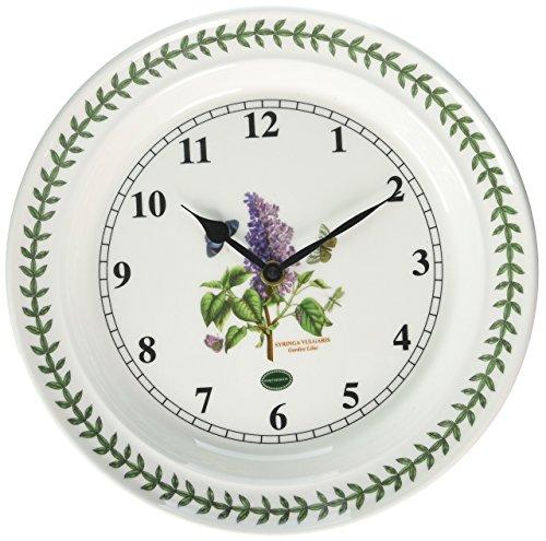 10' Wall Clock (Portmeirion Botanic Garden Kitchen 10-inch Wall Clock)