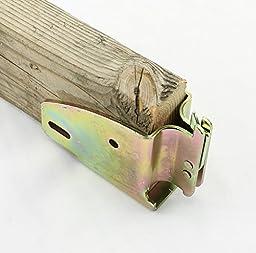 (Pack of 4) E-track Wood Beam Holder Socket Fittings for Load Bar, Shelves, Custom Cabinet