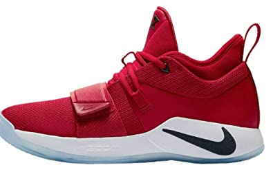 newest a8e14 31045 Nike Men's PG 2.5 Fresno State Paul George Red Basketball Shoes (10 M US)