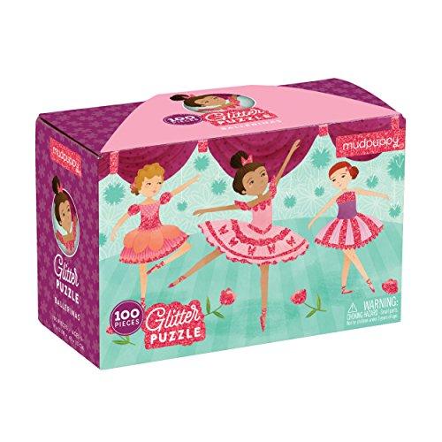 Mudpuppy Ballerina Glitter Puzzle (100 Piece)