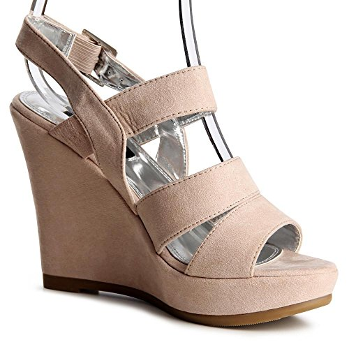 topschuhe24 - Sandalias de vestir para mujer, color negro, talla 41