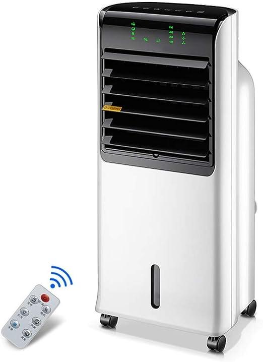 TYUIO Enfriador de aire portátil con control remoto y pantalla LED ...