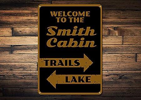Señal de cabina, señal de bienvenida personalizada para el ...