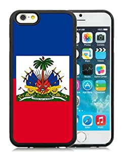 Popular iPhone 6S TPU Case ,Fashionable And Unique Designed Case With Haitian Haiti Flag Black iPhone 6S Cover High Quality Phone Case