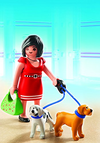 Playmobil-City-Life-Mujer-con-cachorros-5490