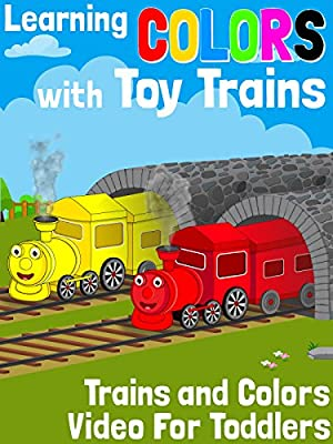Learning Colors With Toy Trains - Trains and Colors Video For Toddlers