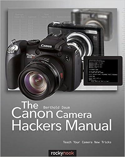 Book The Canon Camera Hackers Manual