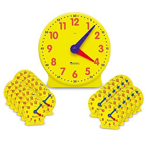 Learning Resources Classroom Clock Kit ()
