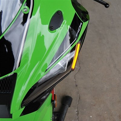 Amazon.com: Kawasaki ZX-10R Front LED Turn Signals - New Rage Cycles: Automotive