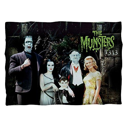Munsters Family (anteriore e posteriore stampa) Pillow case White One size