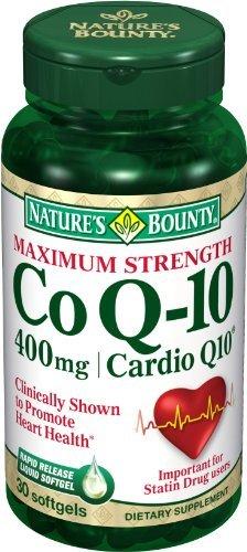 Bounty CoQ10 Nature, 400mg, gélules 30