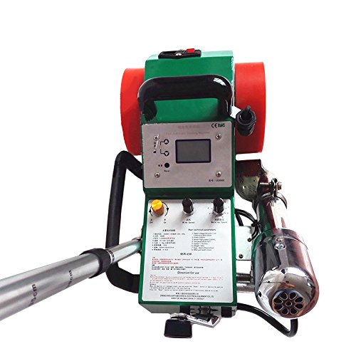 BAOSHISHAN 1800W PVC Banner Welder TPO Roofing Tools Hot Air Seamless Splicing Welding Machine 2-4cm Width 0.2-2mm Thick Flex Banner (220V) by BAOSHISHAN (Image #3)