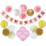 Party Decor Baby Shower Decorations For Girl – Its A...