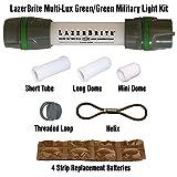 Lazerbrite Multi Lux Green/Green Military Light Kit