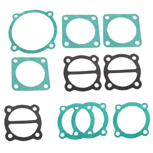 Paper House Air Compressor Cylinder Fußab Cover Head Valve Plate Gaskets 10 Pcs