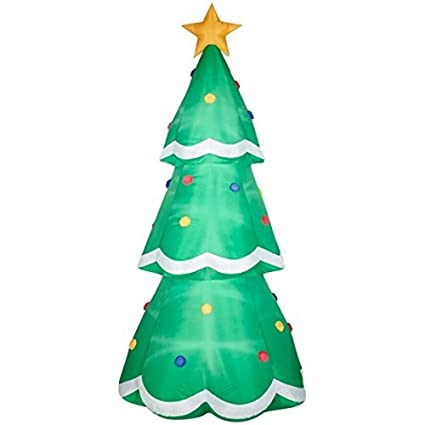 airblown inflatable christmas tree giant 10ft tall by gemmy industries - Amazon Christmas Decorations Indoor