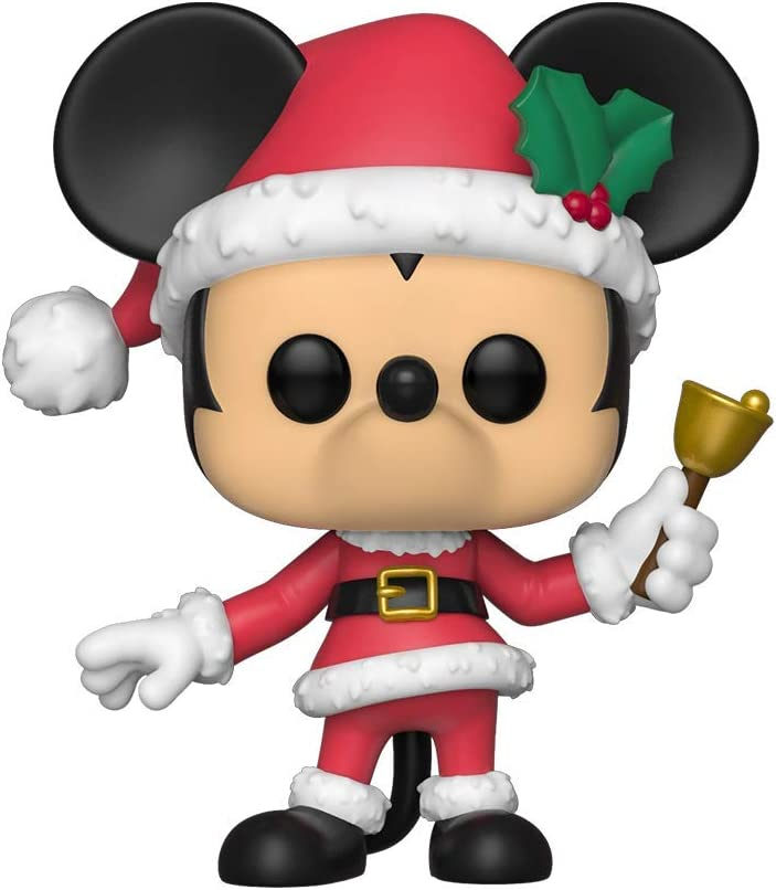Funko Pop Figura De Vinil Disney: Holiday-Mickey Coleccionable, Multicolor, Estándar (43327)