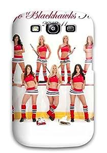 Hot chicago blackhawks cheerleader r NHL Sports & Colleges fashionable Samsung Galaxy S3 cases 5572708K392005680