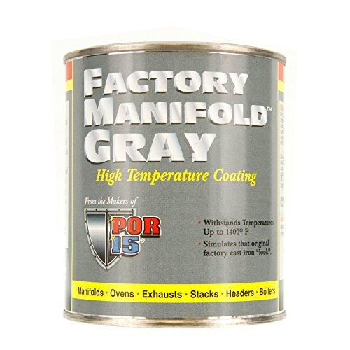 Exhaust Manifold Coating - POR-15 Factory Manifold Gray *Hp* *Half Pint* Manifold Gray