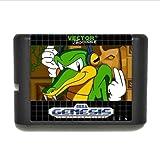 Taka Co 16 Bit Sega MD Game Vector The Crocodile 16 bit MD Game Card For Sega Mega Drive For Genesis