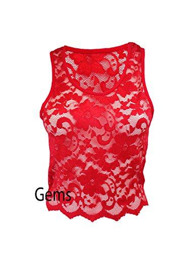 Generic - T-shirt - Femme Rouge Rouge M/L