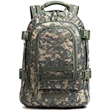 GreenCity Military Outdoor Backpack,Expandable Tactical Backpack,Travel Backpack,DIY System Up to 64L Loading Space for Travel,Camping,Hunting,Trekking and Hiking