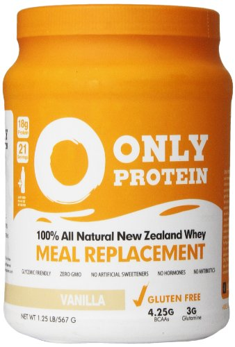 Only Protein Meal Replacement Powder Jug, Vanilla, 1.25 Poun