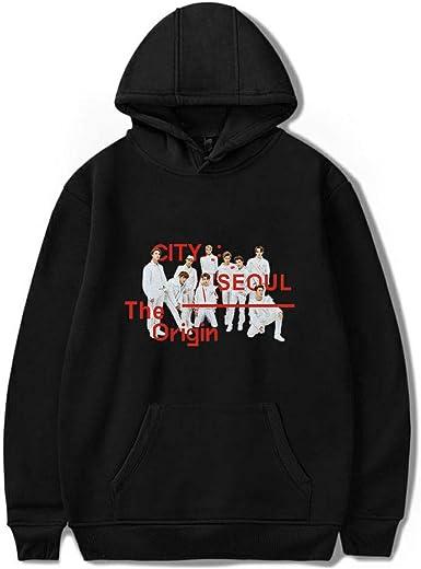 Xkpopfans Kpop NCT Dream Hoodie We Boom Pullover Jeno Mark Taeyong Off The Shoulder Sweatshirt