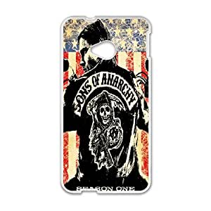 DIY Printed Sons of Anarchy hard plastic case skin cover For HTC One M7 SNQ482308