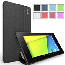 Poetic Slimline Case for Google Nexus 7 FHD 2nd Gen 2013 Android Tablet Black (3 Year Manufacturer Warranty From Poetic)
