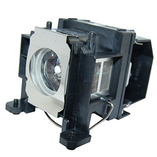 Glamps ELPLP48 / V13H010L48 Replacement Lamp with Housing for EPSON PowerLite 1716/1720/1725/1730W/1735W