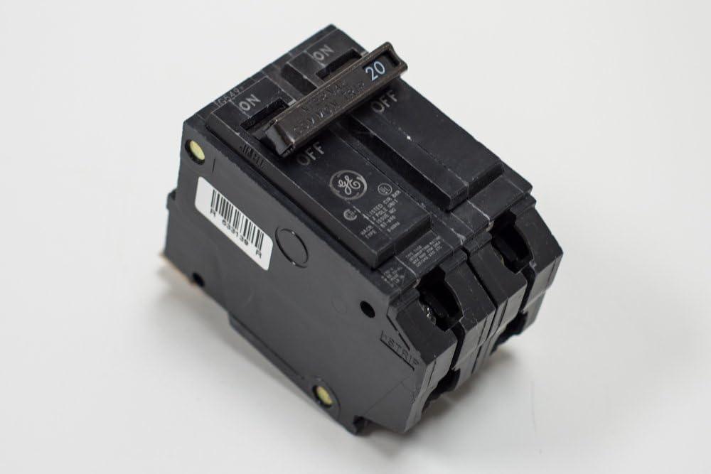 GE THQB21100 Bolt-On Mount Type THQB Miniature Circuit Breaker 2-Pole 100 Amp