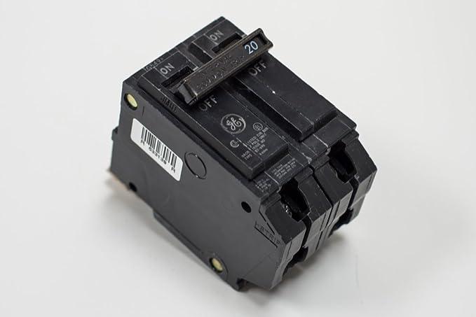 GE THQB2180 Bolt-On Mount Type THQB Miniature Circuit Breaker 2-Pole 80 Amp 120/240 Volt AC